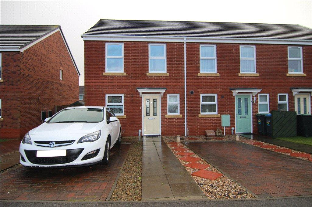 2 Bedrooms End Of Terrace House for sale in McCormick Close, Bowburn, DH6