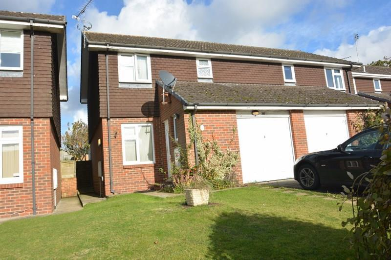 3 Bedrooms Semi Detached House for sale in Richborough Drive, Charlton, Andover