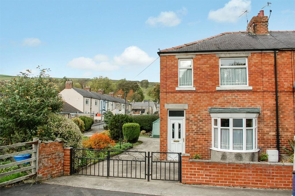 3 Bedrooms End Of Terrace House for sale in Western Hill, Frosterley, Bishop Auckland, County Durham