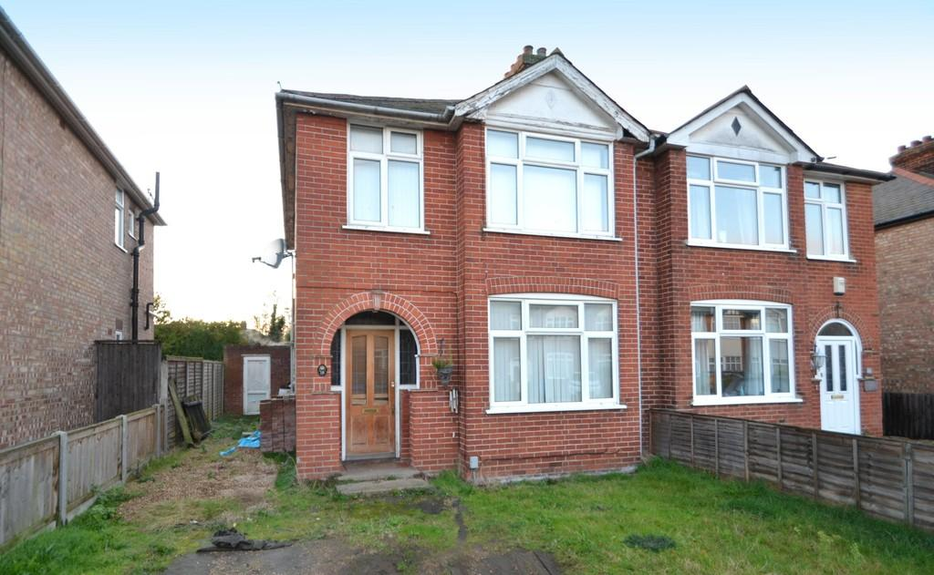 3 Bedrooms Semi Detached House for sale in Fairfield Road, Ipswich, Suffolk
