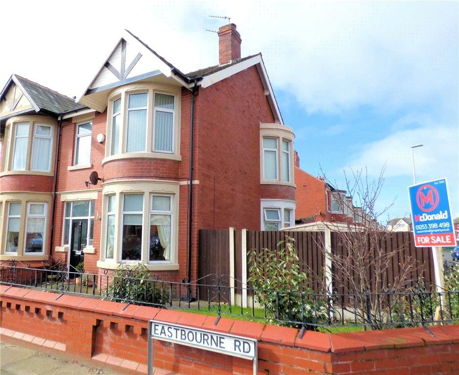 3 Bedrooms Semi Detached House for sale in Eastbourne Road, South Shore, Blackpool