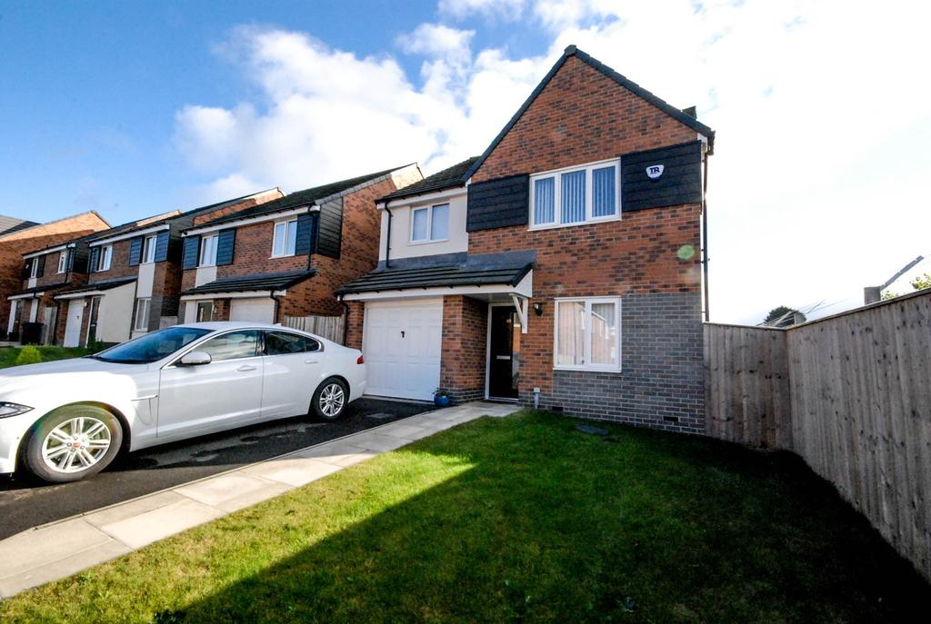 4 Bedrooms Detached House for sale in Friars Way, Fenham