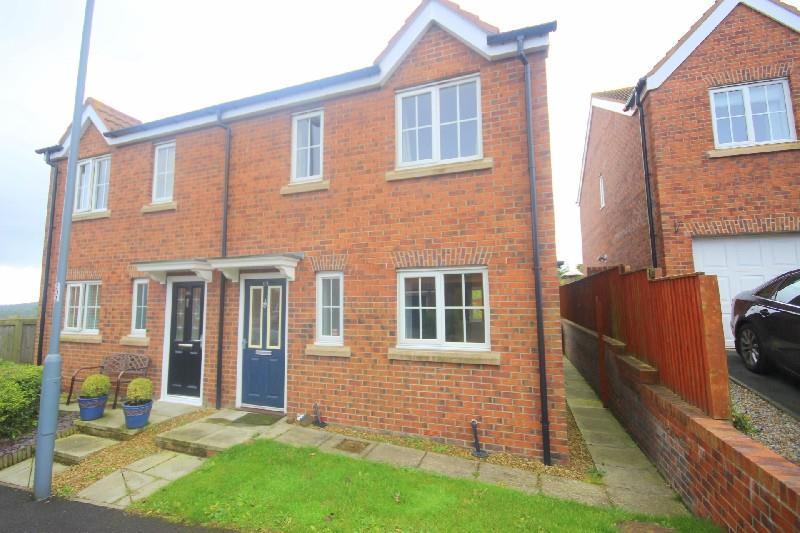 3 Bedrooms Semi Detached House for sale in Meadowfield Burnhope, Durham