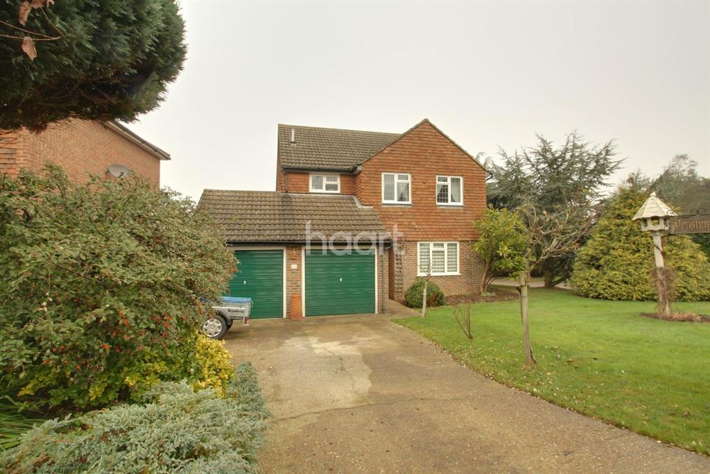 4 Bedrooms Detached House for sale in Cottenham Close, East Malling