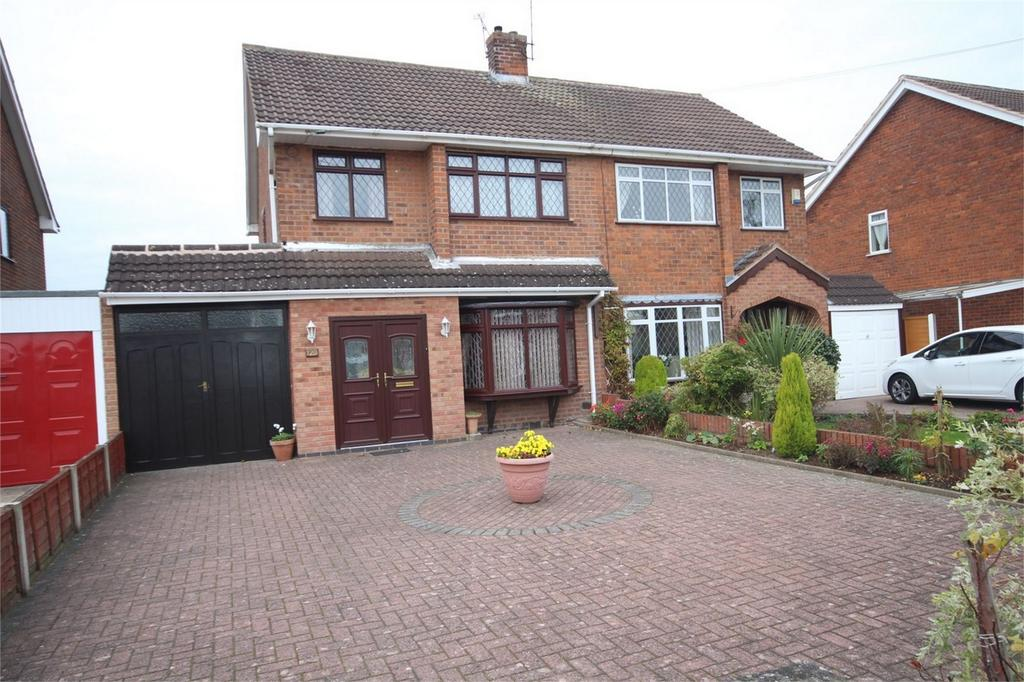 3 Bedrooms Semi Detached House for sale in Stonewell Crescent, Whitestone, Nuneaton, Warwickshire