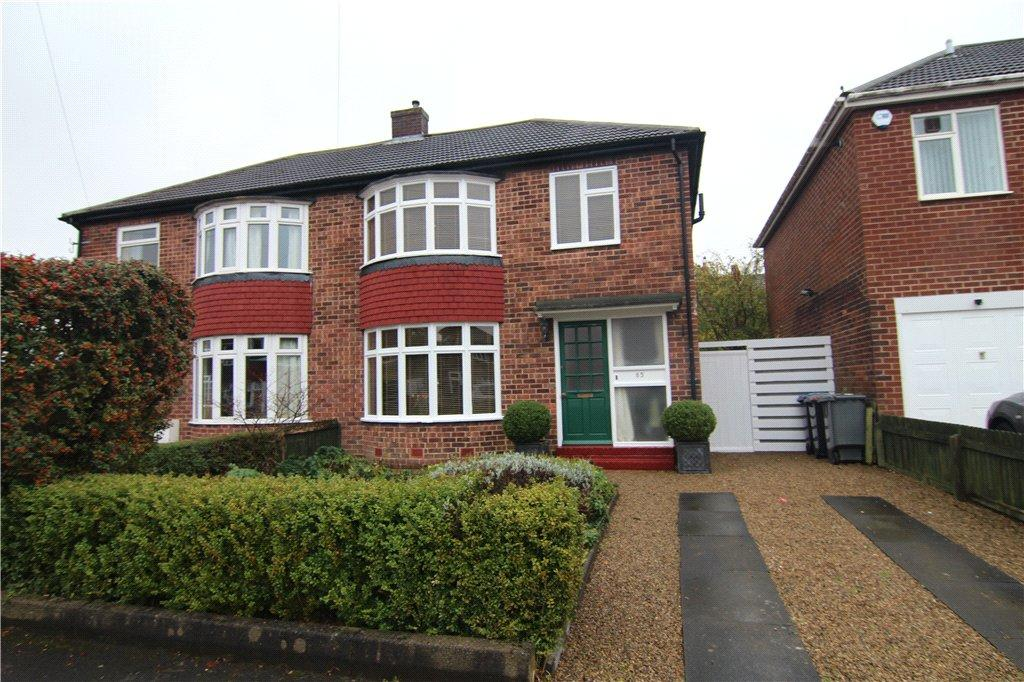 3 Bedrooms Semi Detached House for sale in Grinstead Way, Carrville, Durham, DH1