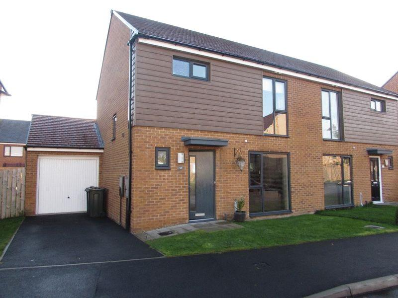 3 Bedrooms Semi Detached House for sale in The Acres, Wallsend - Three Bedroom Semi-Detached