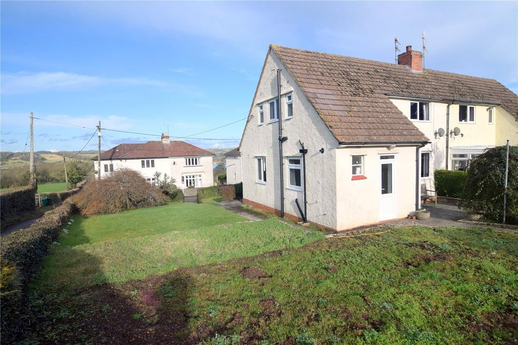 2 Bedrooms Semi Detached House for sale in Garston Lane, Blagdon,, North Somerset, BS40