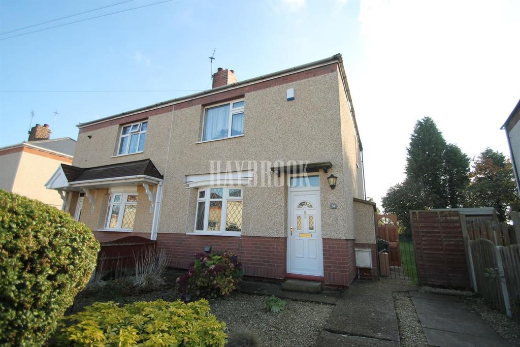 2 Bedrooms Semi Detached House for sale in Arnold Crescent, Mexborough