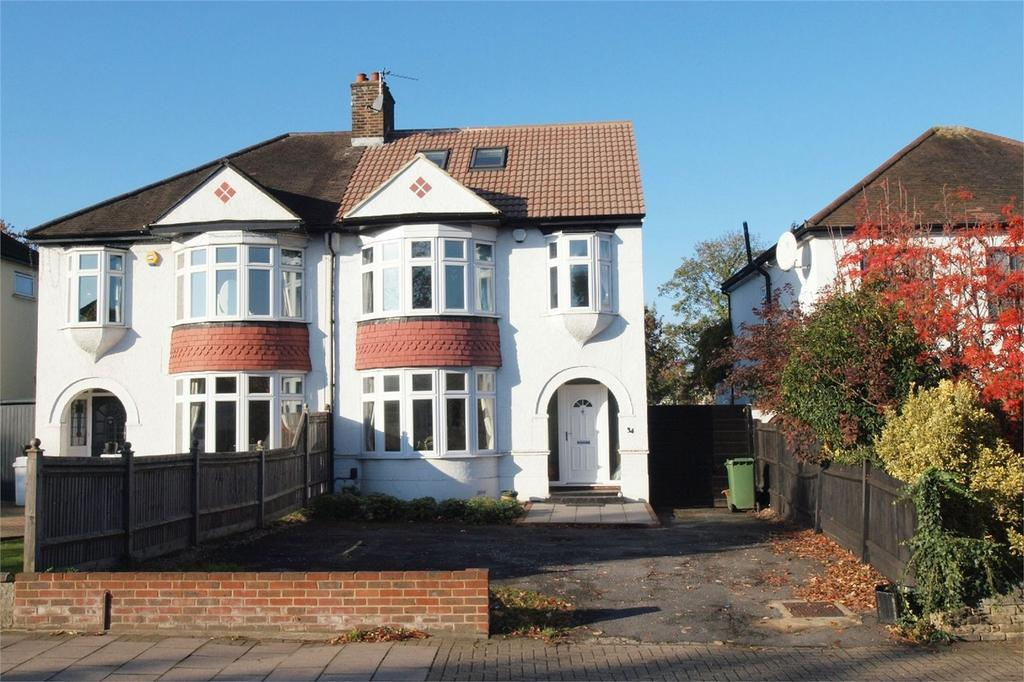 4 Bedrooms Semi Detached House for sale in Station Road, West Wickham, Kent