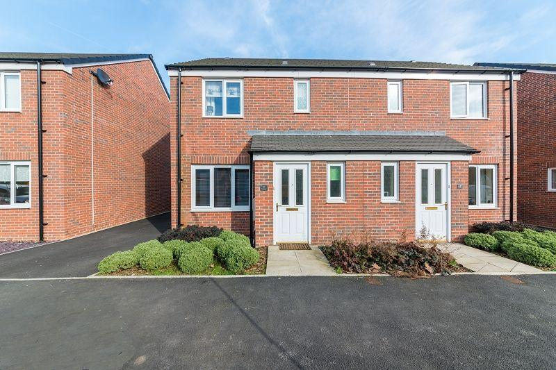 3 Bedrooms Semi Detached House for sale in Sir Briggs Avenue, Duffryn, Newport, Newport. NP10 8AU