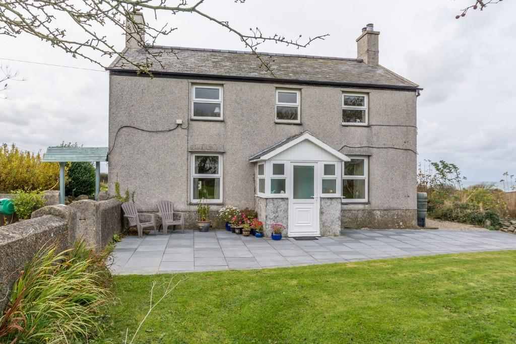 4 Bedrooms Detached House for sale in Llangwnadl, Pwllheli, North Wales