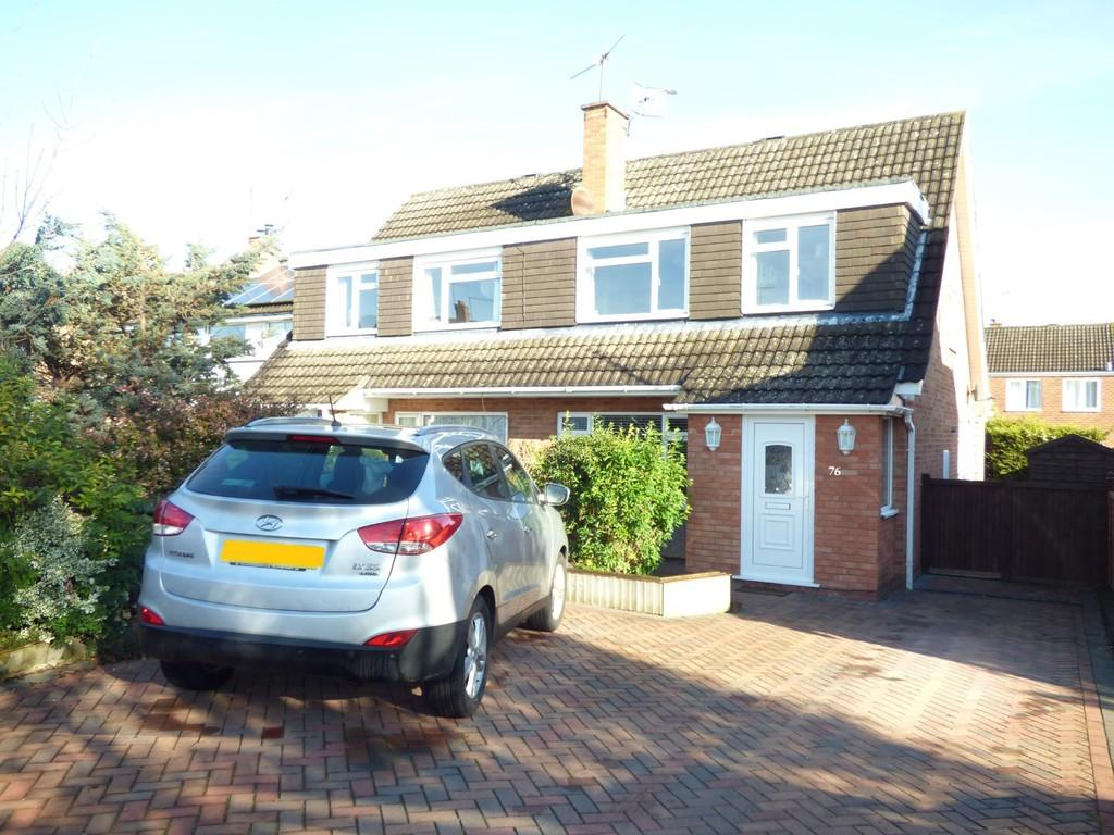 3 Bedrooms Semi Detached House for sale in Glebe Road, Stratford-Upon-Avon