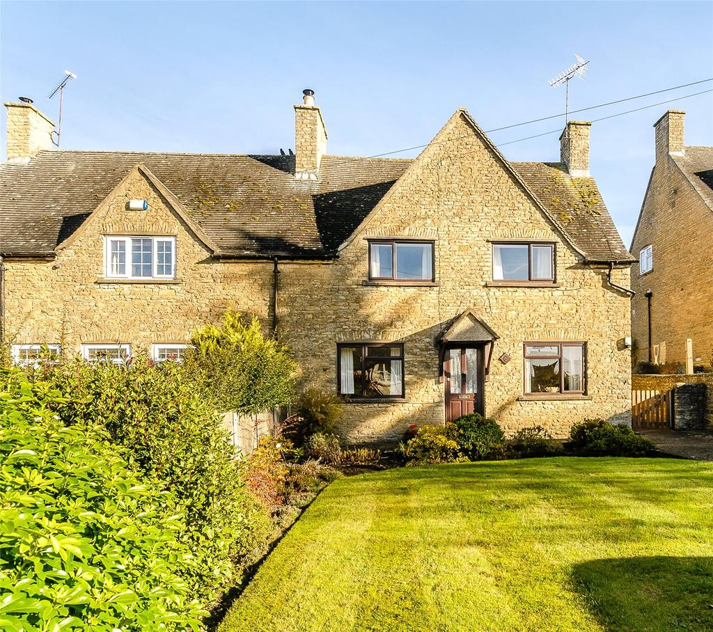 3 Bedrooms Semi Detached House for sale in Hastings Hill, Churchill, Chipping Norton, Oxfordshire