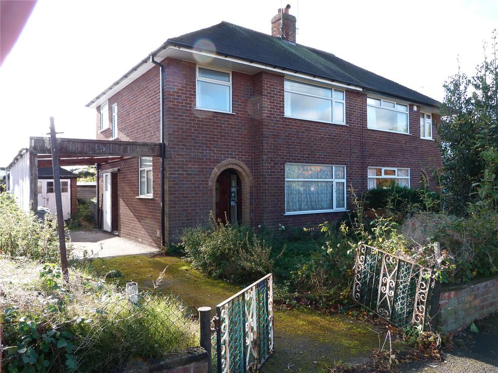 3 Bedrooms Semi Detached House for sale in Poplar Drive, Alsager, Stoke On Trent, ST7