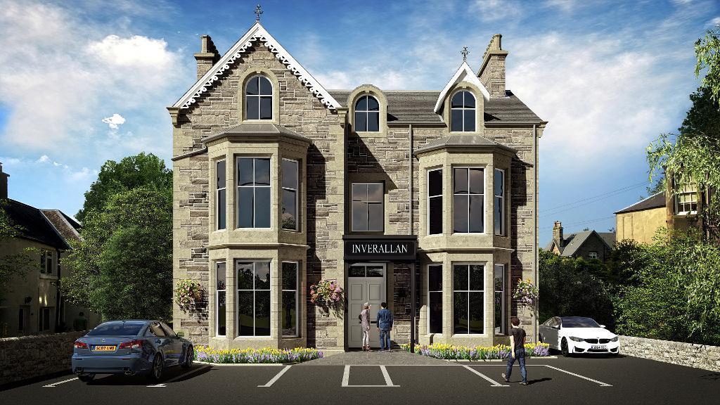 2 Bedrooms Flat for sale in Henderson Street, Bridge of Allan, Stirling, FK9 4HF