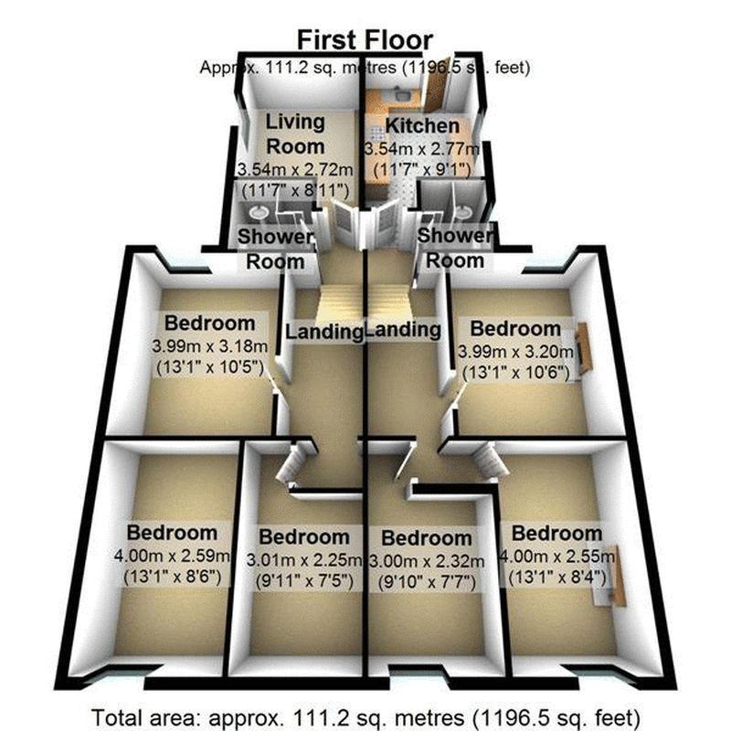 6 Bedrooms Apartment Flat