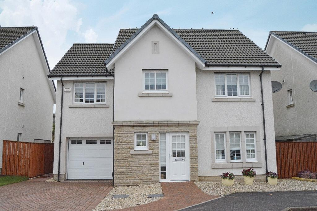4 Bedrooms Detached House for sale in Galbraith Crescent, Larbert, Falkirk, FK5 4GZ