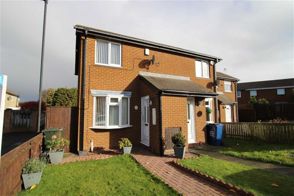 2 Bedrooms End Of Terrace House for sale in Meadow Rise, Newcastle Upon Tyne, NE5