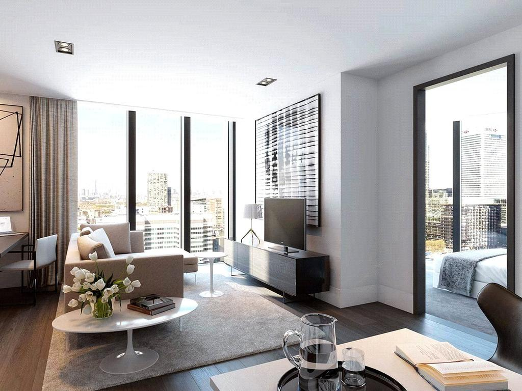 2 Bedrooms Flat for sale in The Madison, Marsh Wall, London, E14