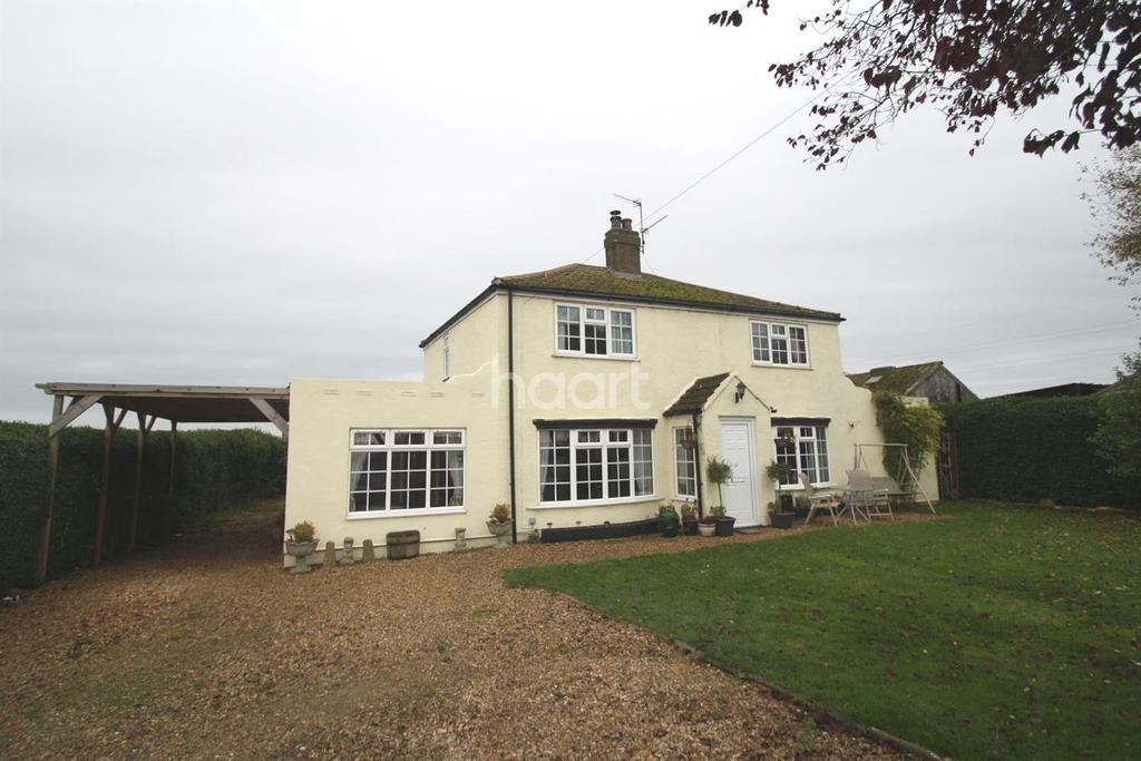 4 Bedrooms Detached House for sale in Oxcroft Bank, Moulton Chapel