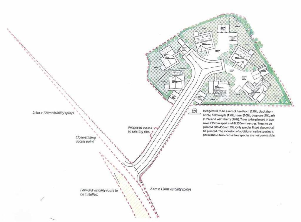 Land Commercial for sale in Building Land Adjoining, Brynfedwen, Llanwddyn, SY10