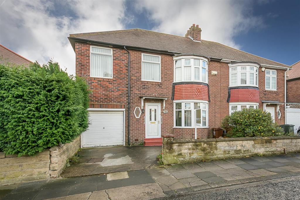 4 Bedrooms Semi Detached House for sale in Martello Gardens, Newcastle upon Tyne