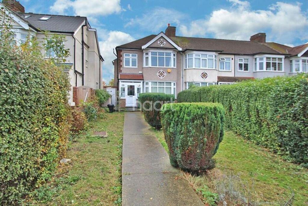 3 Bedrooms End Of Terrace House for sale in Rush Green Road, Romford