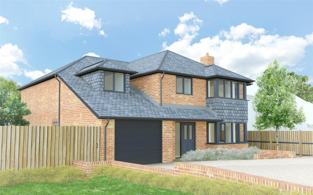 4 Bedrooms Detached House for sale in Kempshott Lane, Basingstoke, RG22