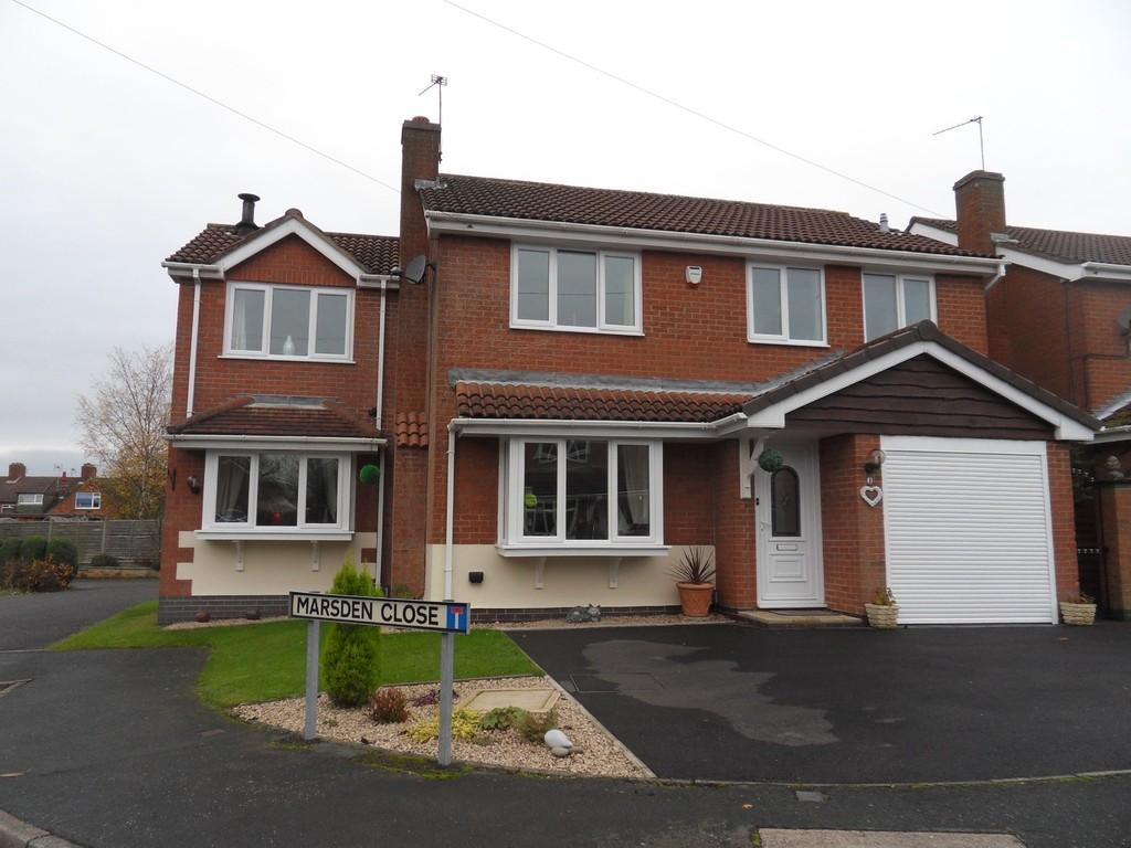 4 Bedrooms Detached House for sale in Marsden Close, Ravenstone, Coalville