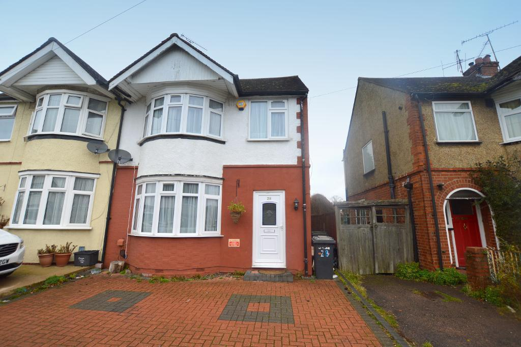 3 Bedrooms Semi Detached House for sale in Weatherby Road, Luton, Bedfordshire, LU4 8QS
