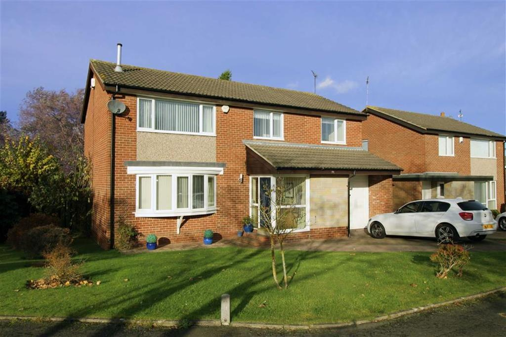 4 Bedrooms Detached House for sale in Wilmington Close, Newcastle Upon Tyne, NE3