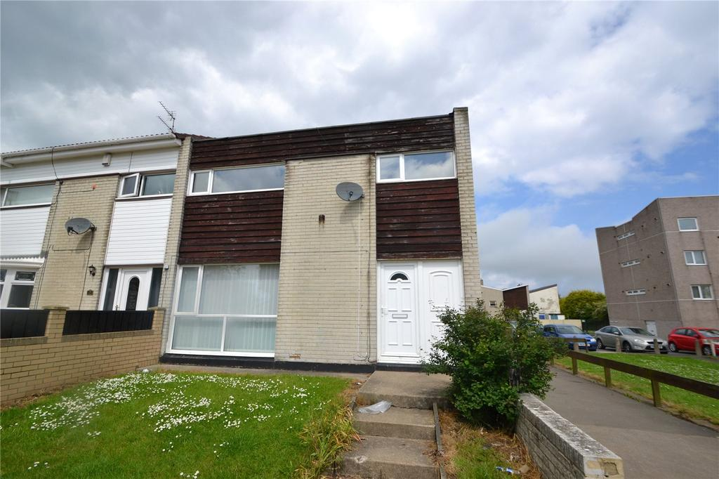 3 Bedrooms End Of Terrace House for sale in Westmorland Rise, Peterlee, Co Durham, SR8