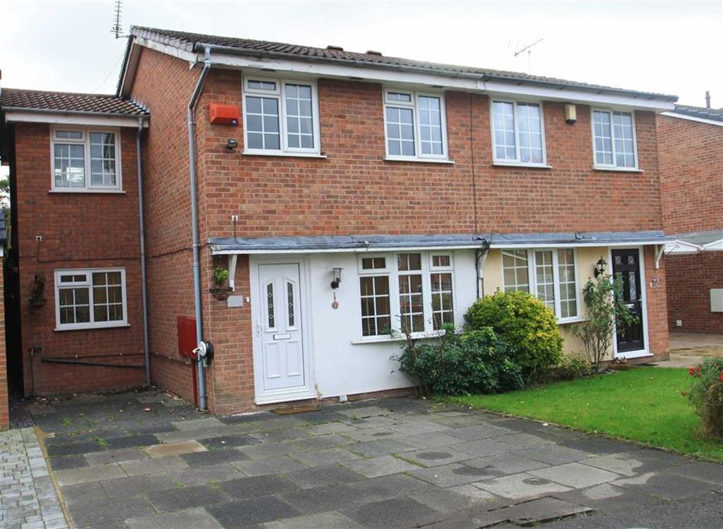 3 Bedrooms Semi Detached House for sale in Muirfield Close, Wilmslow