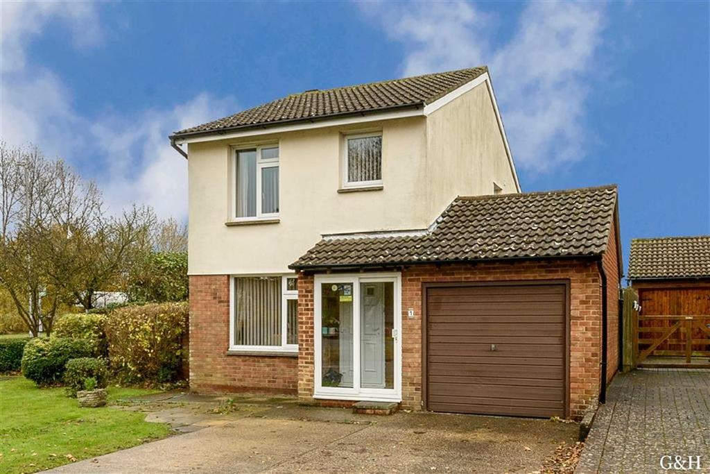 3 Bedrooms Detached House for sale in Springwood Drive, Ashford, Kent