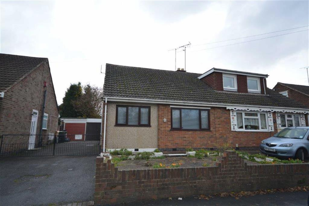 2 Bedrooms Semi Detached Bungalow for sale in Johnson Road, Bedworth, Warwickshire