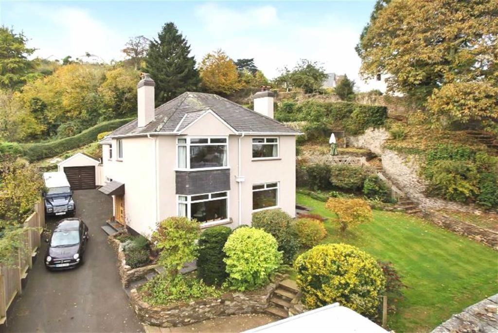 4 Bedrooms Detached House for sale in Maudlin Road, Totnes, Devon, TQ9