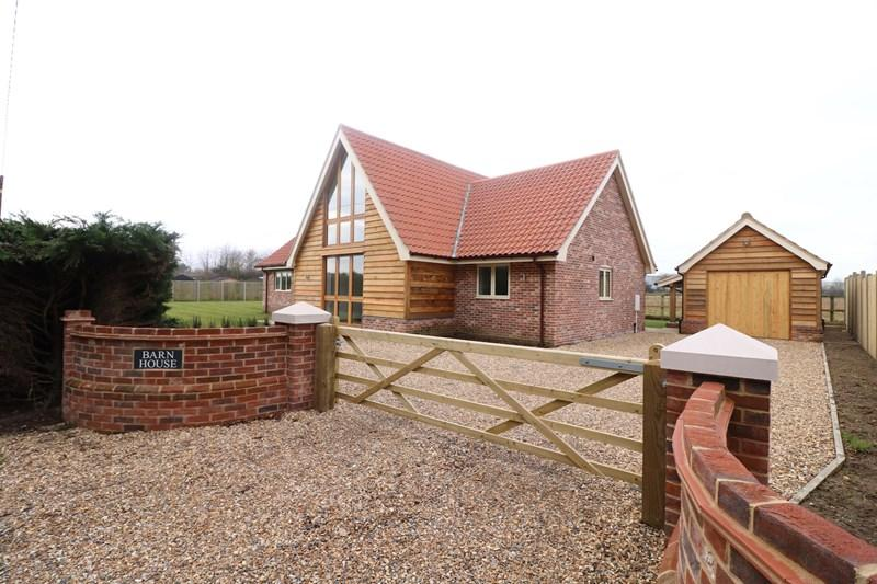 5 Bedrooms Detached House for sale in Gallows Lane, Eccles, Norwich