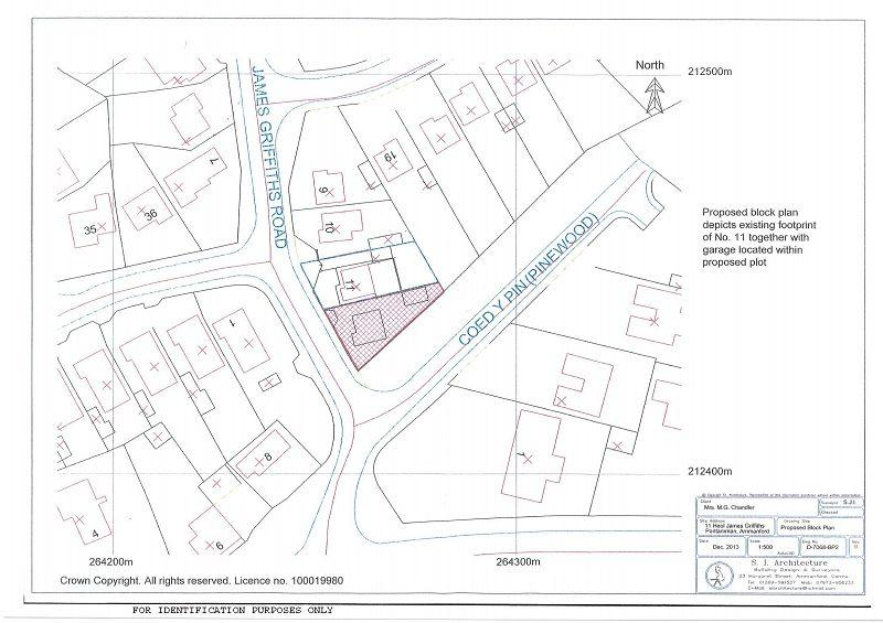 Plot Commercial for sale in Building Plot, James Griffiths Road, Ammanford, Carmarthenshire.