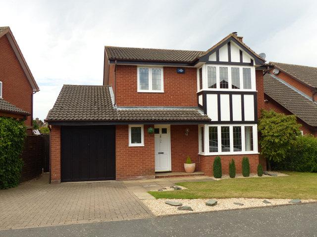 4 Bedrooms Detached House for sale in Moat Drive,Drayton Bassett,Tamworth
