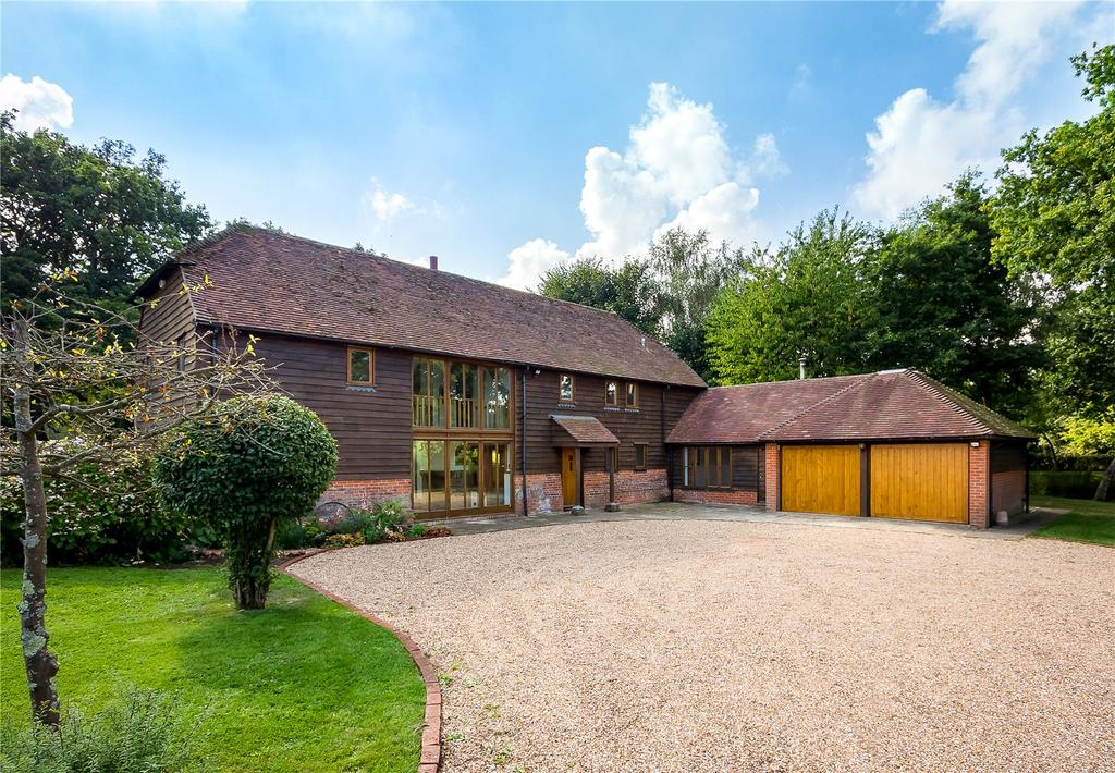 4 Bedrooms Barn Conversion Character Property for sale in Muttons Lane, Ashington, Pulborough, West Sussex