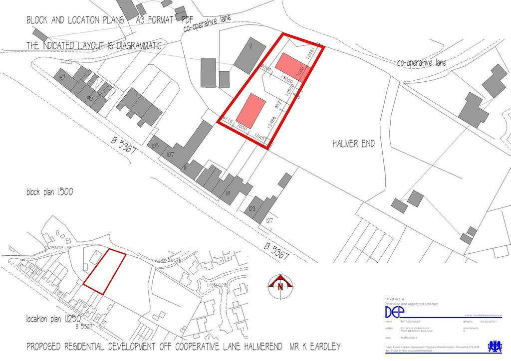 Land Commercial for sale in Cooperative Lane, Halmer End