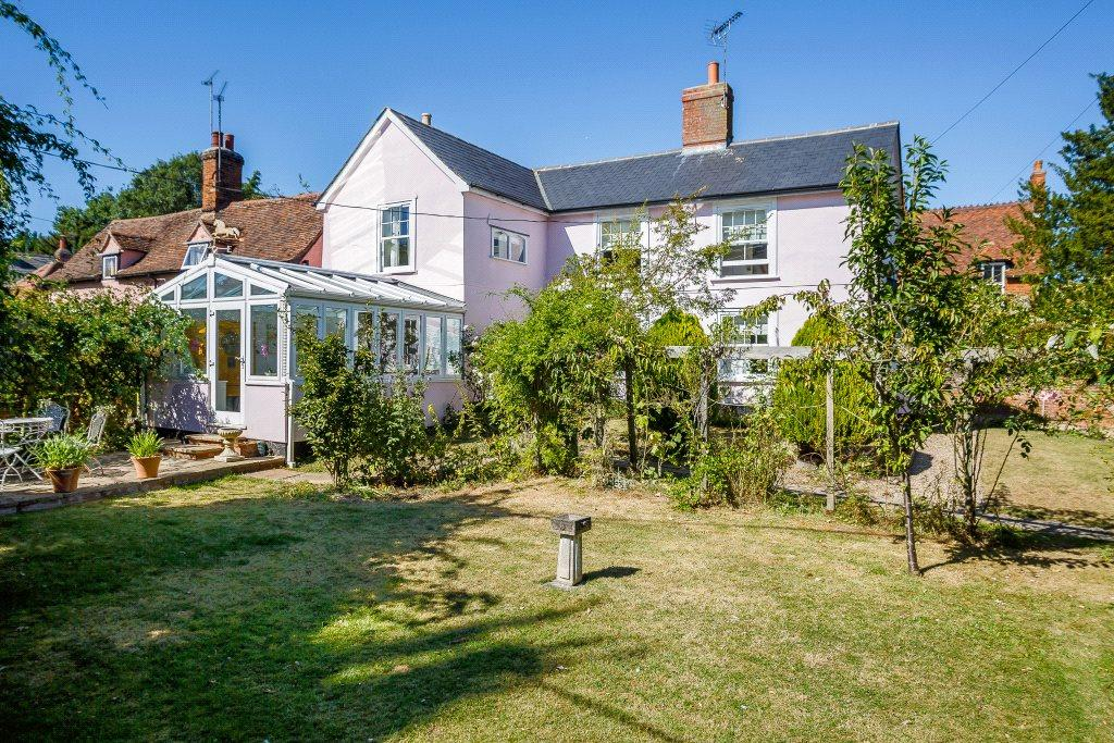 4 Bedrooms Detached House for sale in Callis Street, Clare, Sudbury, Suffolk, CO10