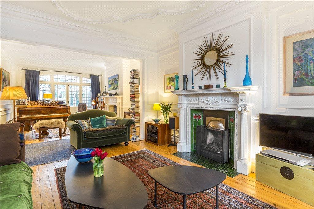 5 Bedrooms End Of Terrace House for sale in Putney Heath Lane, London, SW15