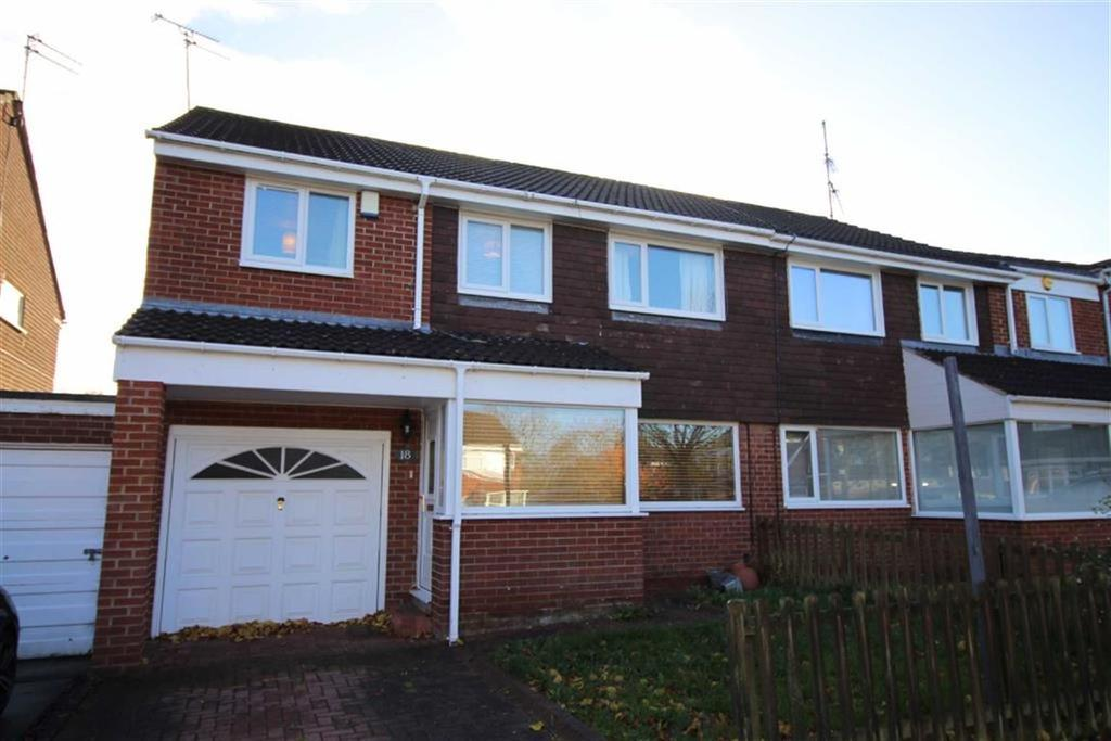 4 Bedrooms Semi Detached House for sale in Shannon Court, Newcastle Upon Tyne, NE3