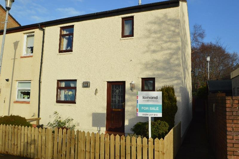 3 Bedrooms Terraced House for sale in Auchenharvie Place, Irvine, North Ayrshire, KA11 1BH
