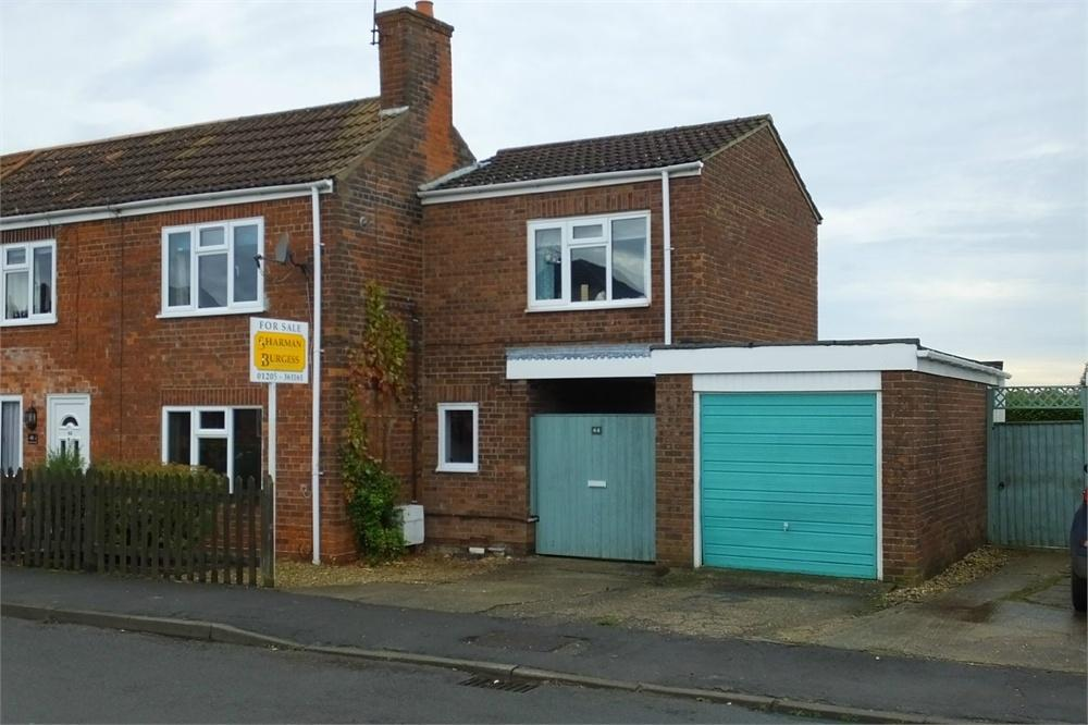 3 Bedrooms End Of Terrace House for sale in Horseshoe Lane, Kirton, Boston, Lincolnshire