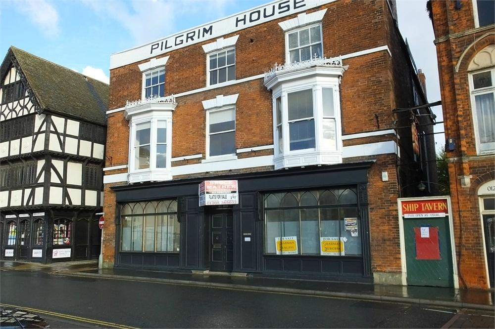 1 Bedroom Flat for sale in Pilgrim House, South Street, Boston, Lincolnshire