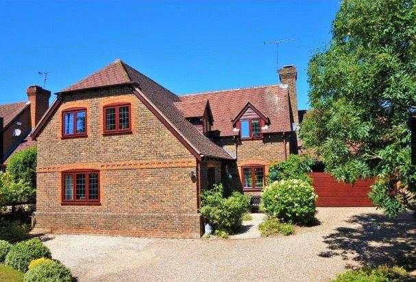 4 Bedrooms Detached House for sale in Bull Lane, Riseley, Reading, Berkshire, RG7