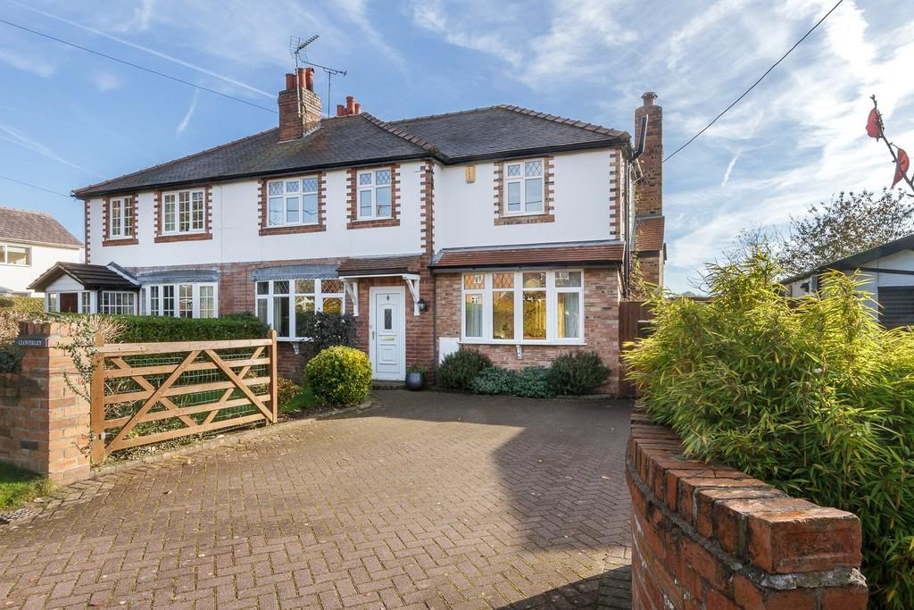 4 Bedrooms Semi Detached House for sale in Cloverley, Mouldsworth, CH3 8AR